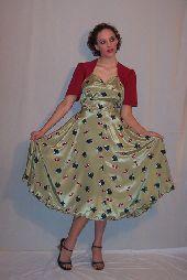 Bolero Dress 1940's