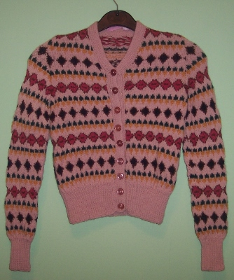 Childs fairisle Cardigan