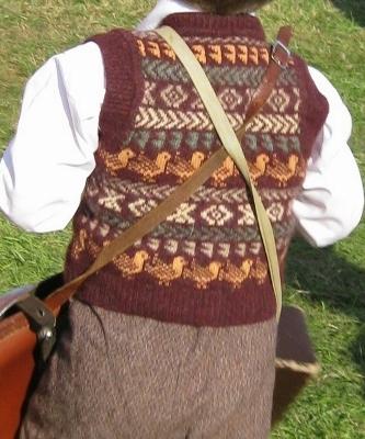 Boys fairisle vest